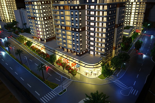 מתוחכם עיצוב אורון חן בע''מ | מודלים שכונות מגורים | אונו וואלי קרית אונו KR-48